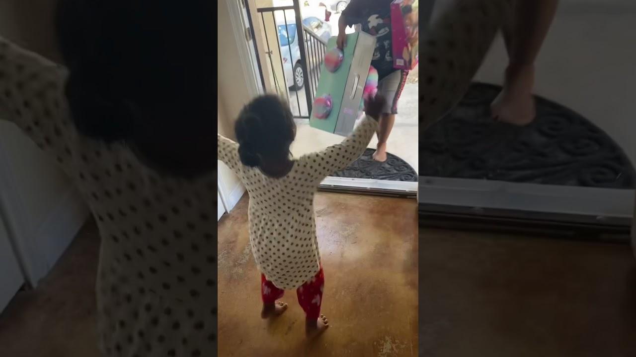 Surprising Kayal with  Moana Doll 😂#shorts