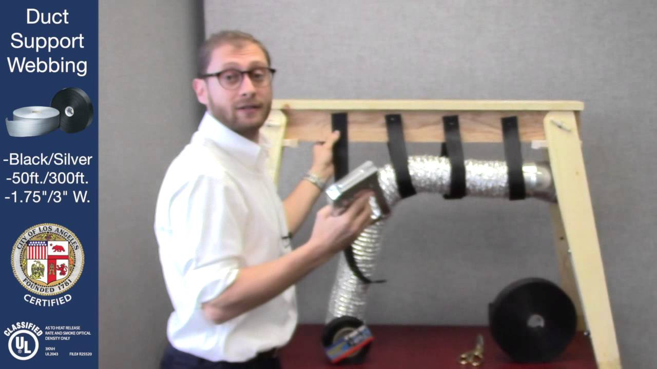 Cambridge Resources Duct Support Webbing Tutorial Youtube