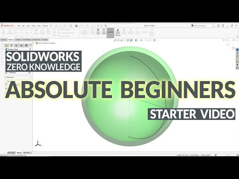Ultimate SolidWorks Tutorial for Absolute Beginners- Step-By-Step Part ONE