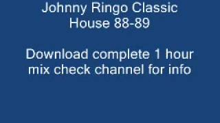 Vol 2 3/4 Johnny Ringo Classic House 88-89