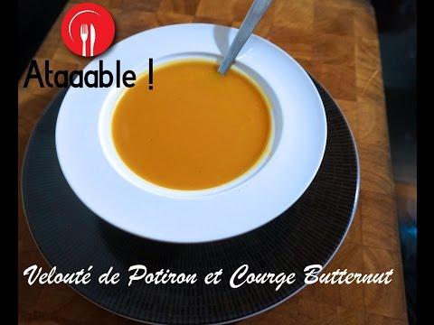 soupe---velouté-de-potiron,-courge-butternut-et-patate-douce