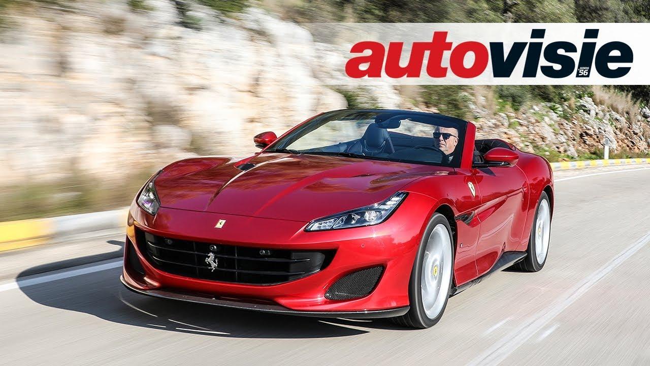 Ferrari California T >> Ferrari Portofino (2018) - Test - Autovisie TV - YouTube