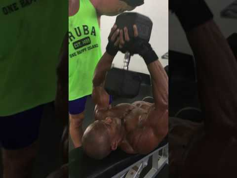 Abel Variation: Single DB Low Incline Close Grip Triceps Press
