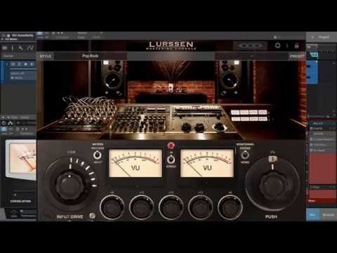 Simply Mastering Episode 4 - Chris Dickens Girl In The Window - Featuring Lurssen Mastering Console