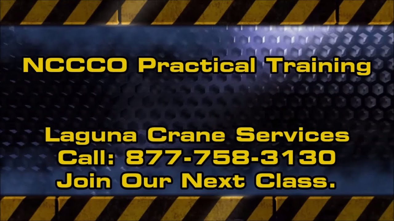 NCCCO Practical Exam Training