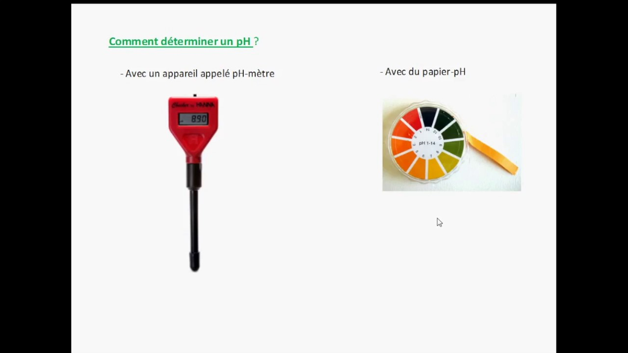 Comment mesurer estimer le ph d 39 une solution youtube - Comment mesurer le ph ...