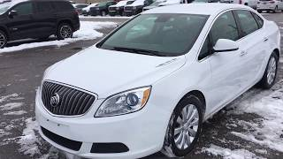 """Pre-Owned 2014 Buick Verano CX 2.4L Automatic 17"""" Wheels Oshawa ON"""