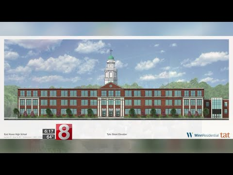 Big plans for the old East Haven High School