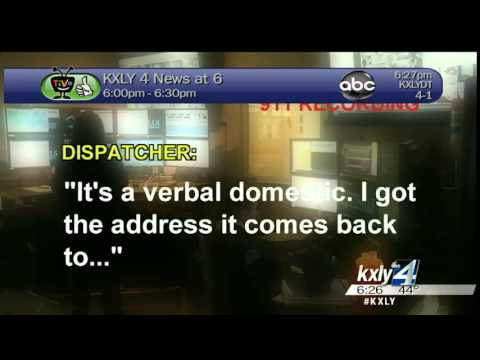 911 dispatchers track down rolling domestic violence case