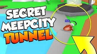 *SECRET* TUNNEL In Roblox MEEPCITY!?!? (glitch)