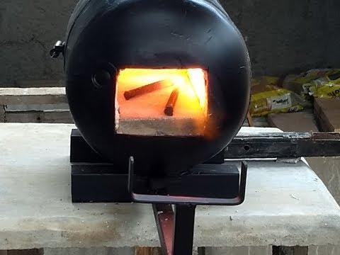 Forja a gás (Baixo custo)  'Gas forging'
