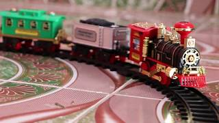 Kids Toy Train Emits Real Smoke Light Sound   Rc Train   Real smoke sound    Unboxing