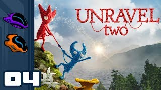 Let's Play Unravel 2 [Coop] - PC Gameplay Part 4 - The Feeeesh Fiasco