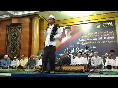Ceramah full ustad abdul somad di universitas Tanjungpura
