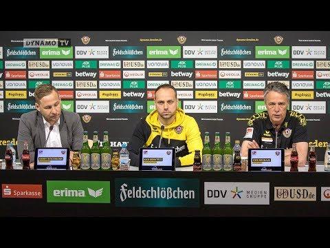 30. Spieltag | SGD - KSV | Pressekonferenz vor dem Spiel