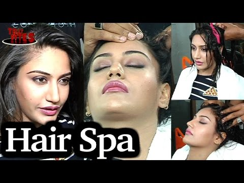 EXCLUSIVE: Surbhi Chandna ENJOYs her HairSpa with Tellybytes