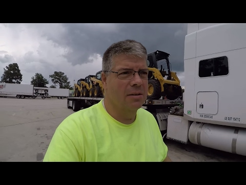 #106 I Have Just Been Driving The Life of an Owner Operator Flatbed Truck Driver Vlog