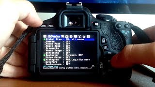 Canon EOS 600D (Rebel T3i) - Instalar Magic Lantern