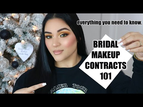 Bridal Makeup Artist Contracts: EVERYTHING YOU NEED TO KNOW!!