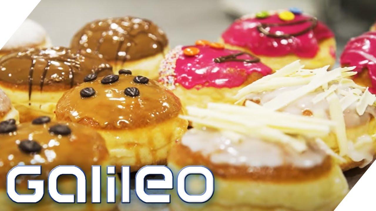 40.000 Krapfen an Altweiber - Stress in der Faschingsbäckerei   Galileo   ProSieben