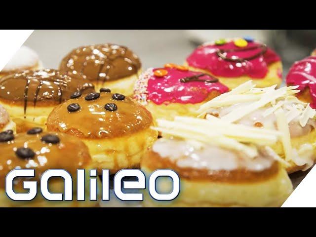 40.000 Krapfen an Altweiber - Stress in der Faschingsbäckerei | Galileo | ProSieben