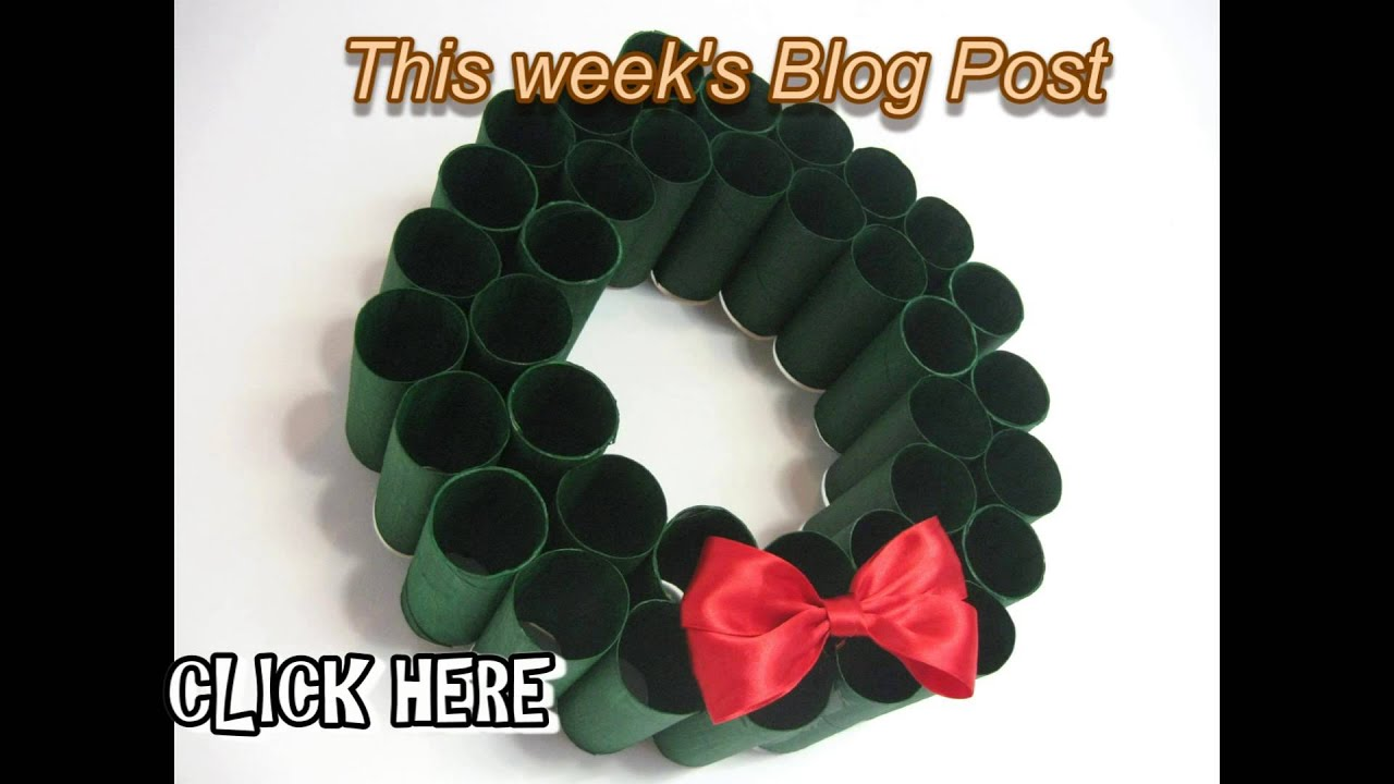 toilet paper roll wreath blog post 5