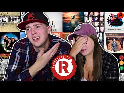 REACTING TO ROCK SOUND'S 100 BEST POP PUNK ALBUMS OF ALL TIME