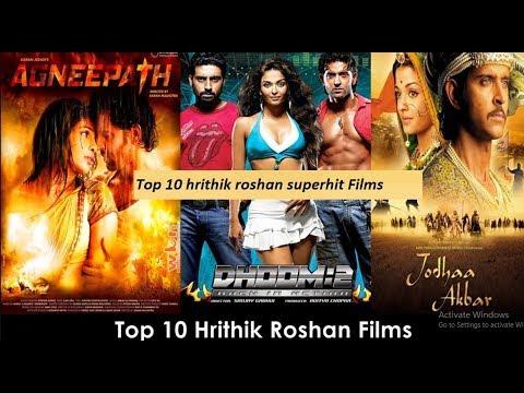 Top 10 Hrithik Roshan SuperHit Films | Hrithik Roshan | hrithik roshan  movies 2017