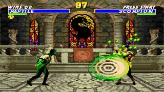 Ultimate Mortal Kombat 3 Reptile