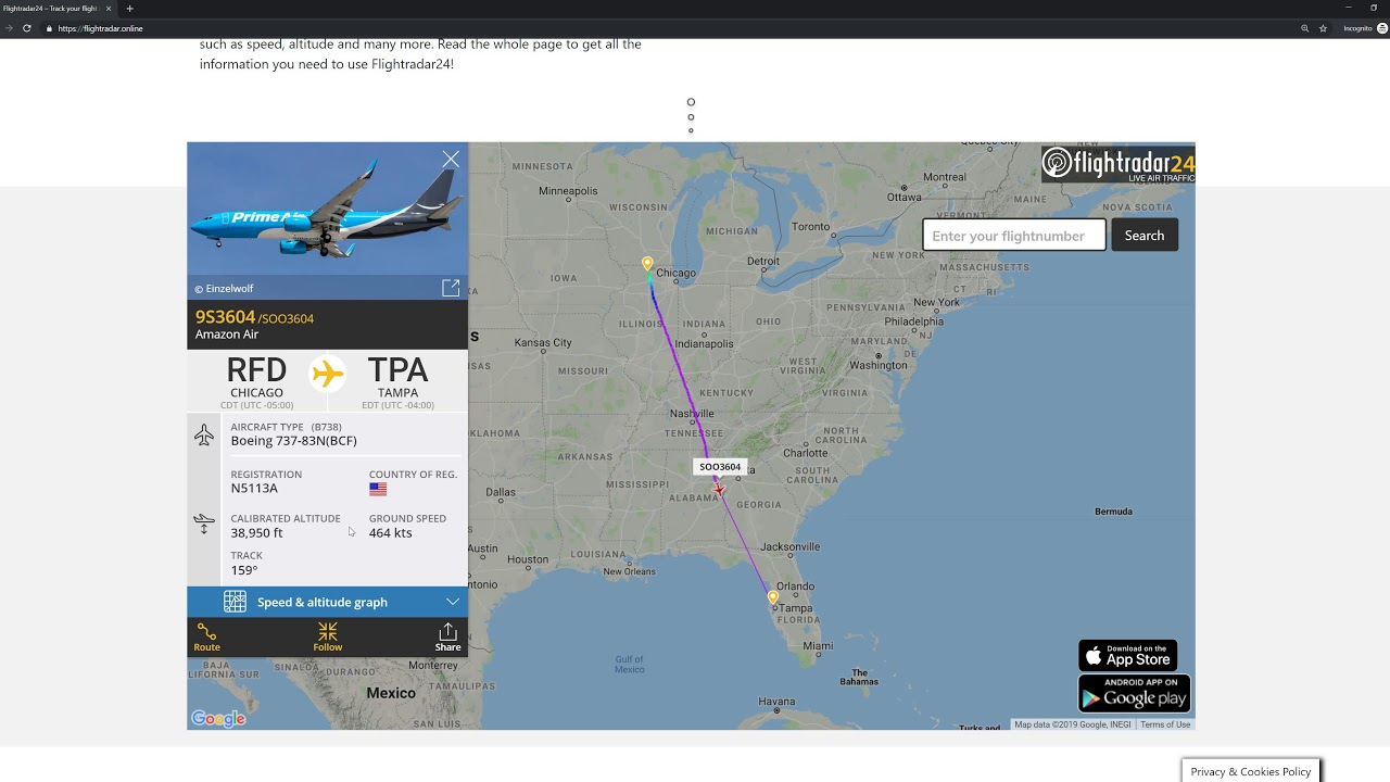 How to use FlightRadar.Online