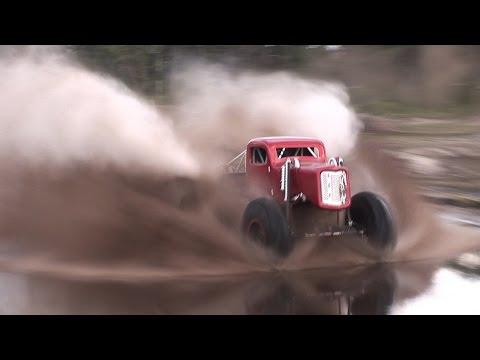 Mega Trucks Walk On Water - Huge Air At Triple Canopy Ranch!