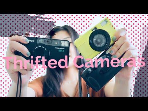 Testing Cameras I Thrifted | Lomo Fisheye | Canon Sure Shot | Minolta Vista QD