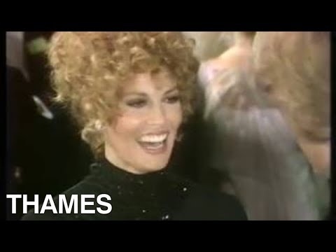 Raquel Welch interview | Royal Film premier | 1974