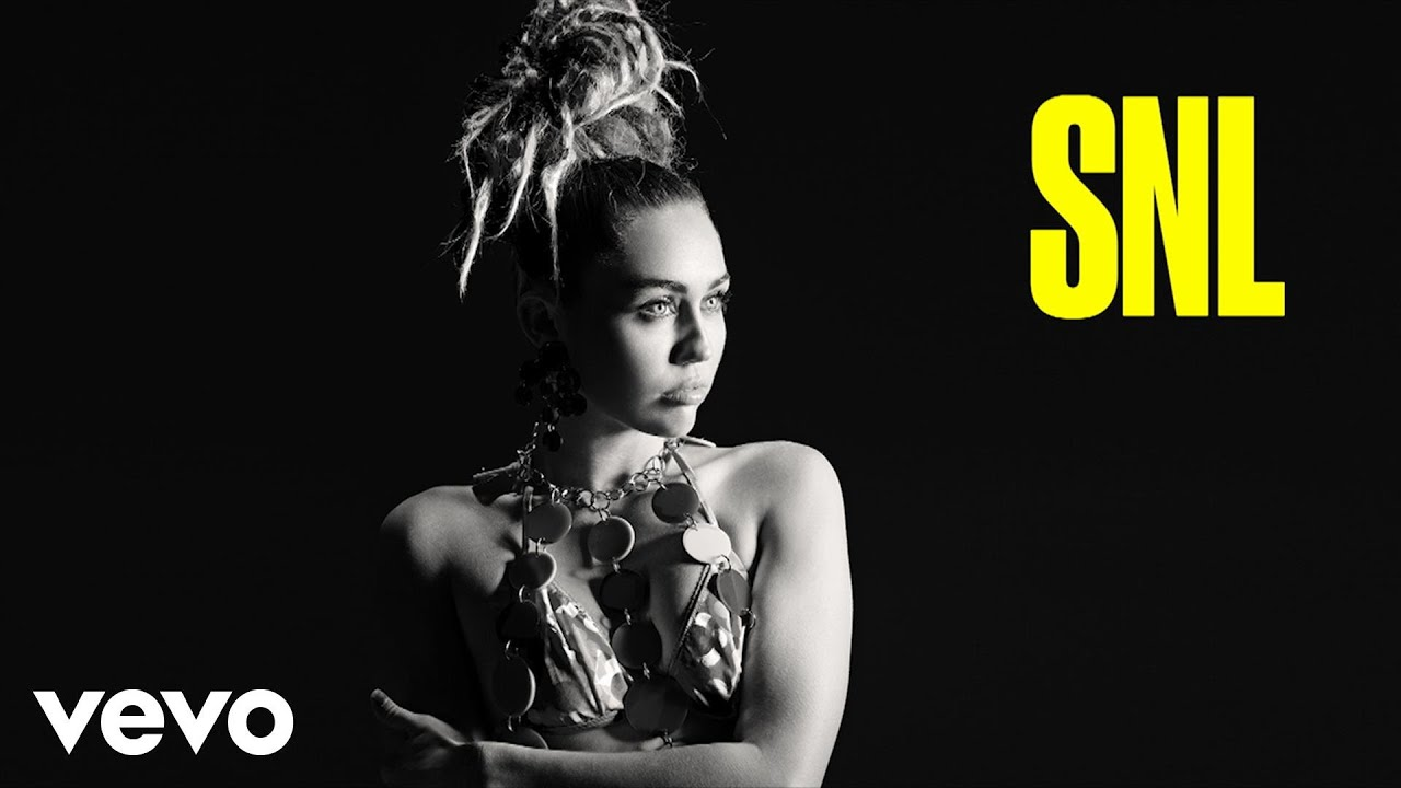 miley cyrus twinkle song live from snl youtube