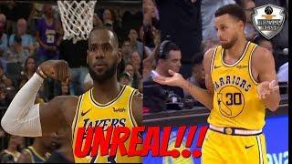 "NBA ""Unreal Shots"" Moments 2018-19"