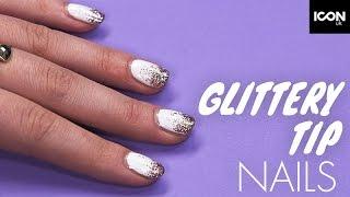 Glitter Tips Nail Tutorial