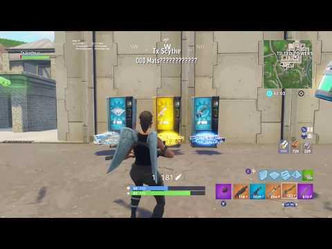 Fortnite Battle Royale 0 Mats Vending Machine Locations!!!!!!!!!!!!!!!!!!!!