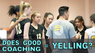 Does Yelling Equal Good Coaching? - Coaches