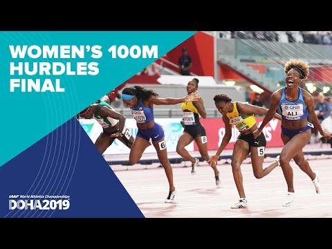 Women's 100m Hurdles Final | World Athletics Championships Doha 2019