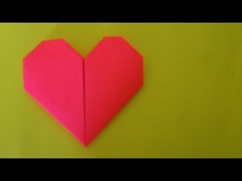 How To Make Origami Easy Heart | Origami Heart