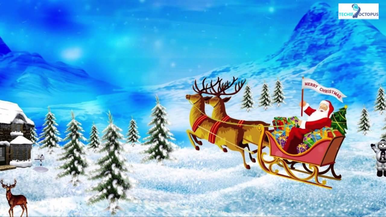 Merry Christmas 2015, Jingle bells, jingle bells, Jingle all the way. song (Instrumental ...