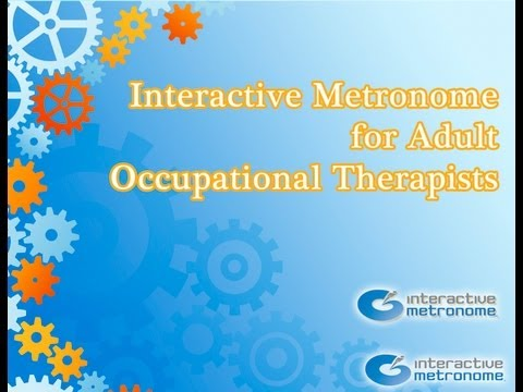 IM for Adult Occupational Therapy