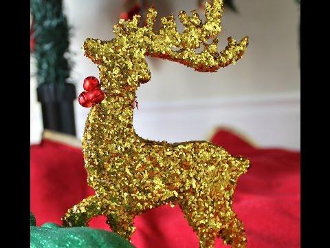 Easy DIY Decorative Reindeer