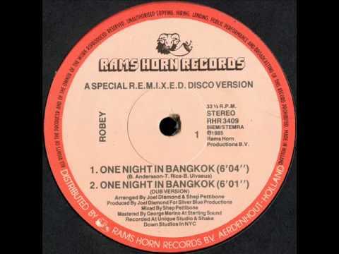 Robey - One Night In Bangkok 12 inch Version 1985.wmv