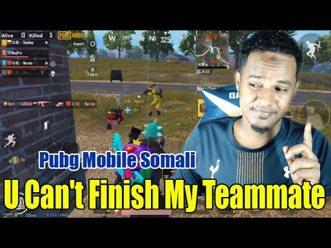 We Fighted Against Hackers Another Match Pubg Mobile Somali