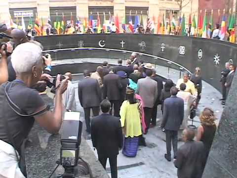 New York City African Burial Ground Dedication Federal Plaza