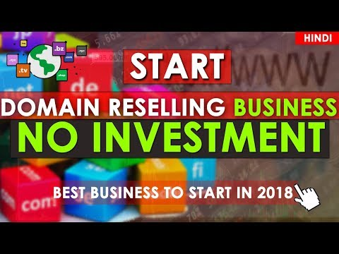 Start Domain Reselling Business with No Investment | How to Sell Domains | Domain Reseller (Hindi)🔥