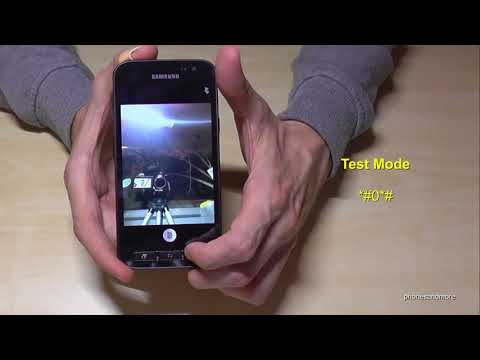 Samsung Galaxy XCover 4: Some Secret Codes (works also with XCover 3)