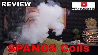 Handcraft Coils SPANOS Review & ΚΛΗΡΩΣΗ coil build giveaway