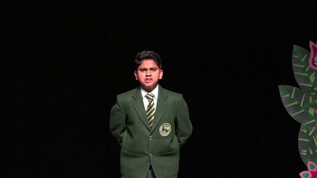 Senior School Junior Hindi Elocution 2018 1
